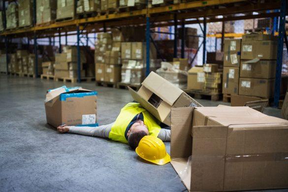 acidentes de trabalho mais comuns