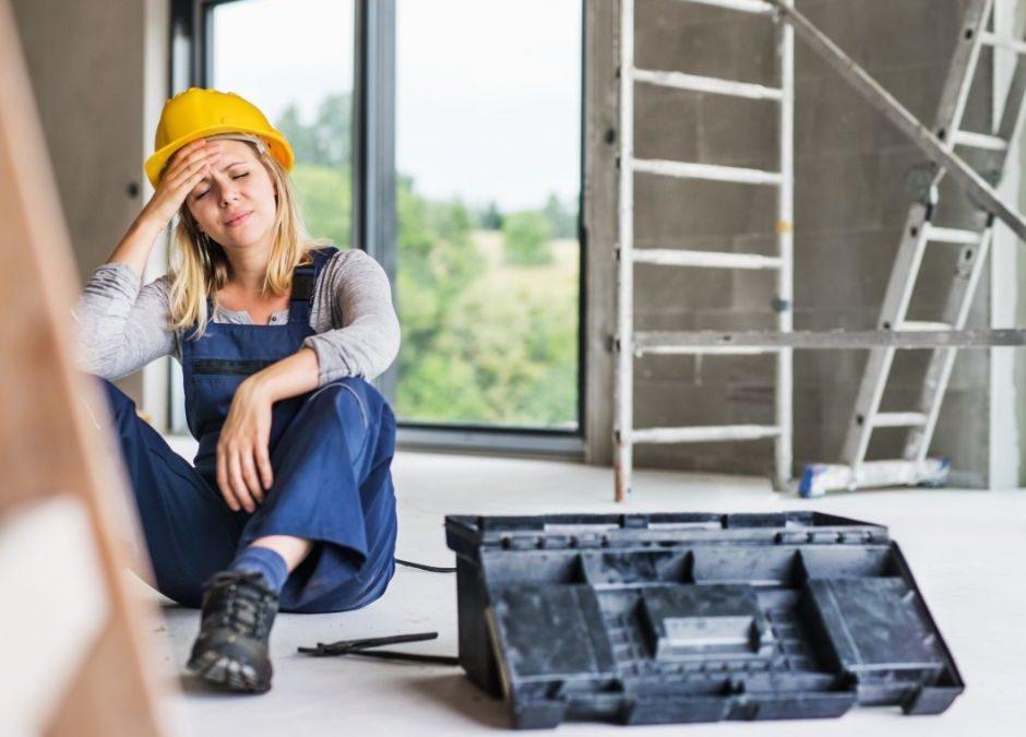 4 acidentes de trabalho mais comuns nas empresas!